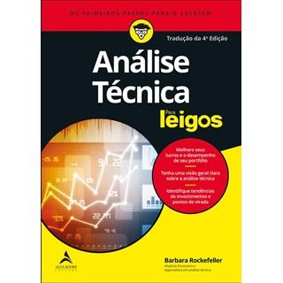 Livro  - 710Análise Técnica Para Leigos - Rockeffeler