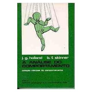Livro - A Análise do Comportamento - Holland - Skinner
