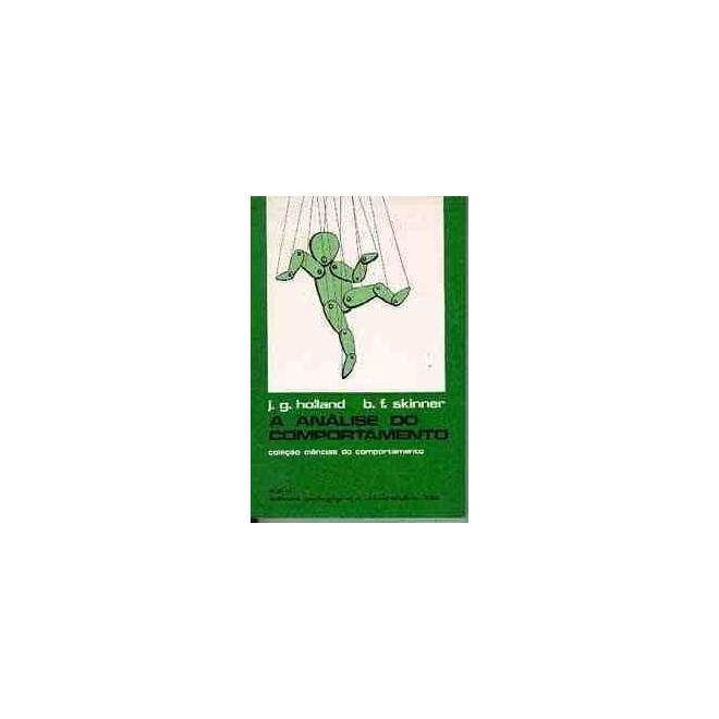 18a94f74d4d2f Livro - A Análise do Comportamento - Holland - Skinner - Livraria ...