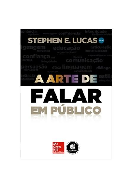 Livro - A Arte de Falar em Público - Lucas