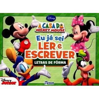 Livro - A Casa do Mickey Mouse - Letras de Fôrma