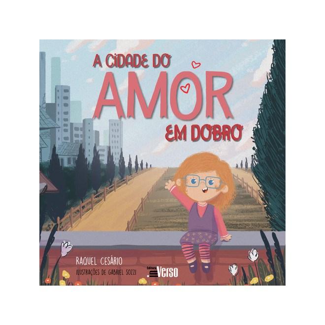 Livro A Cidade do Amor em Dobro - Cesário - Inverso