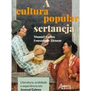 Livro - A Cultura Popular Sertaneja - Carmo