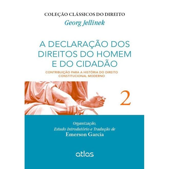 Livro - A Declaração dos Direitos dos Homens e do Cidadão - Jellinek