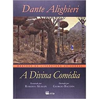 Livro A Divina Comédia - Dante Alighieri - FTD