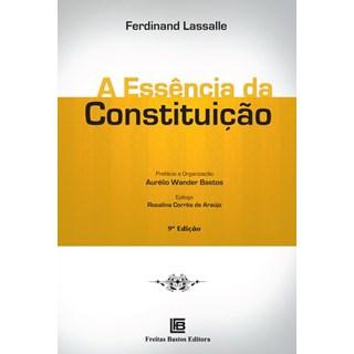 Livro - A Essência da Constituição -