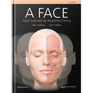 Livro A Face: Atlas de Anatomia Clinica - Radlanski - Napoleão