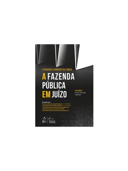 Livro - A Fazenda Pública em Juízo - Cunha