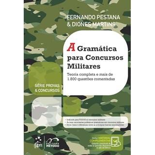 Livro A Gramática para Concursos Militares - Pestana - Método
