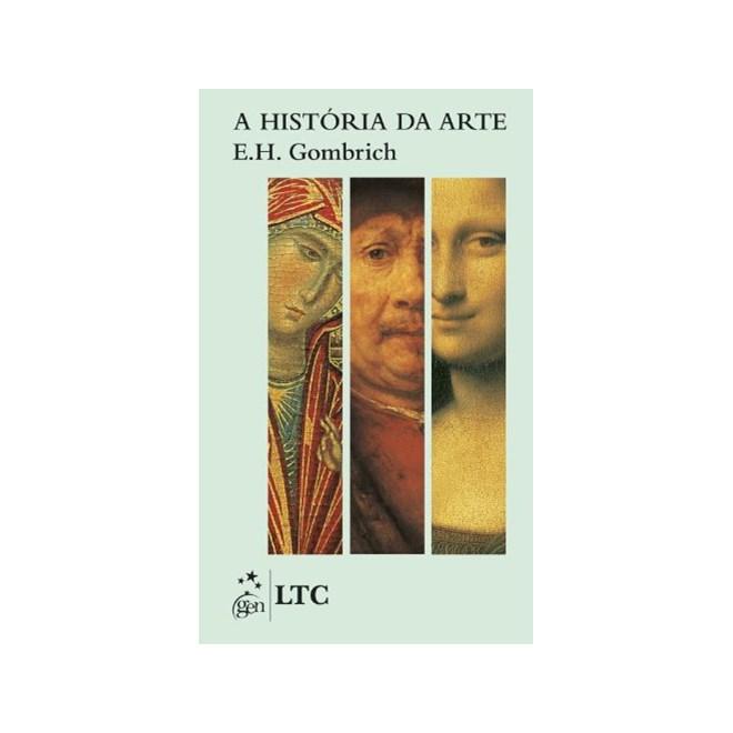 Livro - A História da Arte - Gombrich