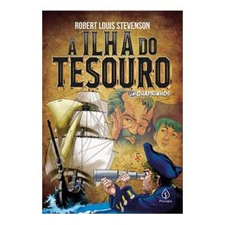 Livro - A ilha do tesouro - Louis Stevenson 1º edição