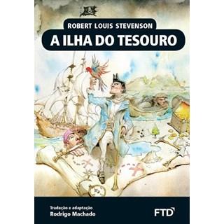Livro - A Ilha do Tesouro - Stevenson - FTD