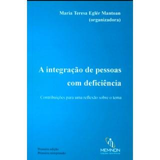 Livro - A Integração de Pessoas Com Deficiência - Mantoan