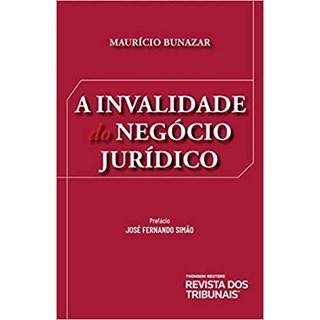 Livro - A Invalidade do Negócio Jurídico - Bunazar - Revista dos Tribunais