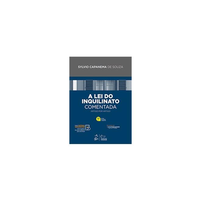 Livro - A Lei do Inquilinato Comentada - Artigo por Artigo - Souza