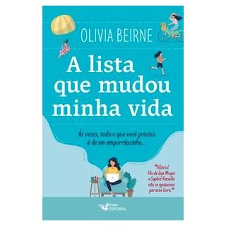 Livro - A lista que mudou minha vida - Beirne 1º edição