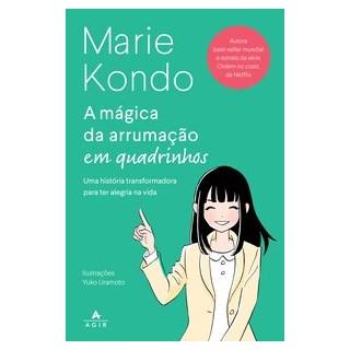 Livro - A mágica da arrumação em quadrinhos - Kondo 1º edição