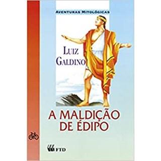 Livro - A Maldição de Édipo - Galdino - FTD