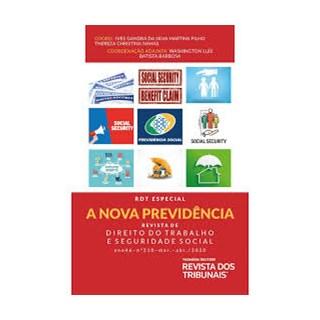 Livro - A Nova Previdência: Revista de Direito do Trabalho - Filho - Revista dos Tribunais