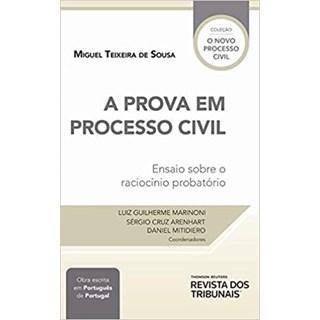 Livro A Prova em Processo Civil - Marinoni - Revista dos Tribunais