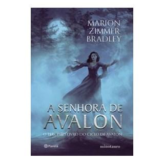 Livro - A senhora de Avalon - Zimmer Bradley 1º edição