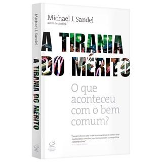 Livro A tirania do mérito - Sandel - Record