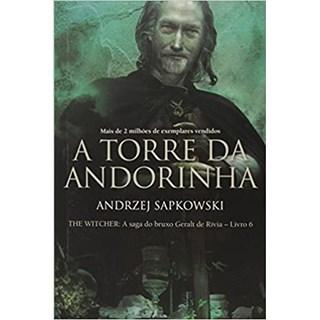 Livro - A torre da Andorinha - Sapkowski - Wmf Martins Fontes