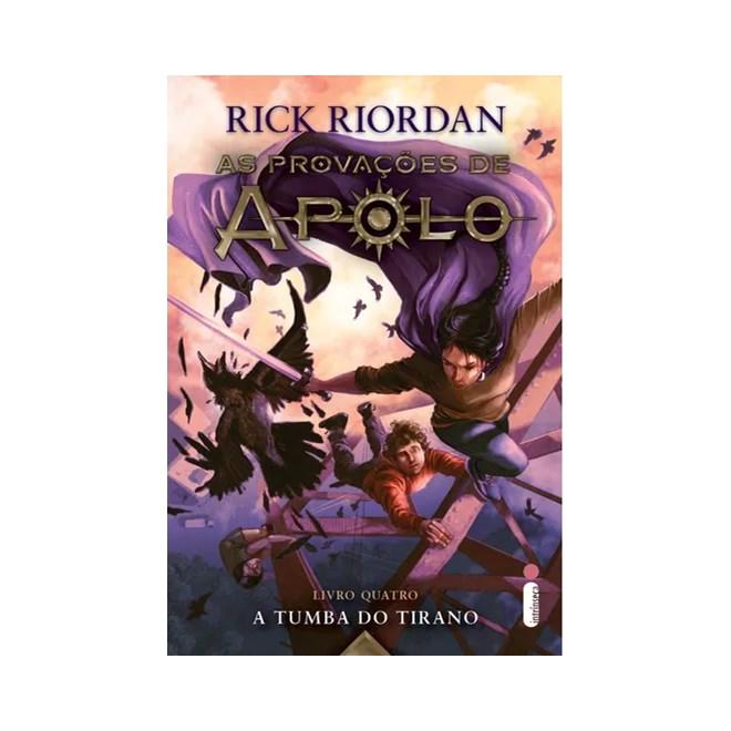 Livro - A Tumba do Tirano - Livro 4 - Riordan