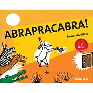 Livro - Abrapracabra - Vilela - Brinque Book