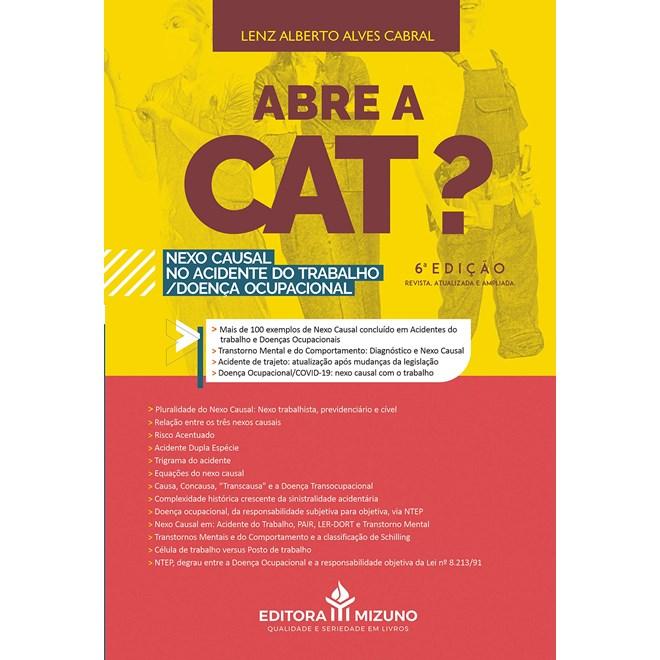 Livro Abre a Cat? - Cabral - Jh Mizuno