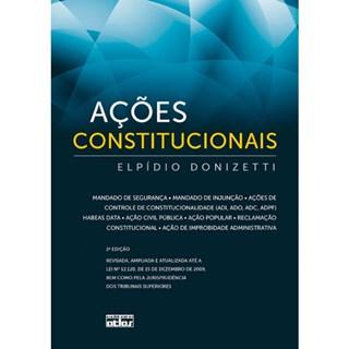 Livro - Ações Constitucionais - Donizetti