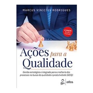 Livro - Ações para a Qualidade - Rodrigues
