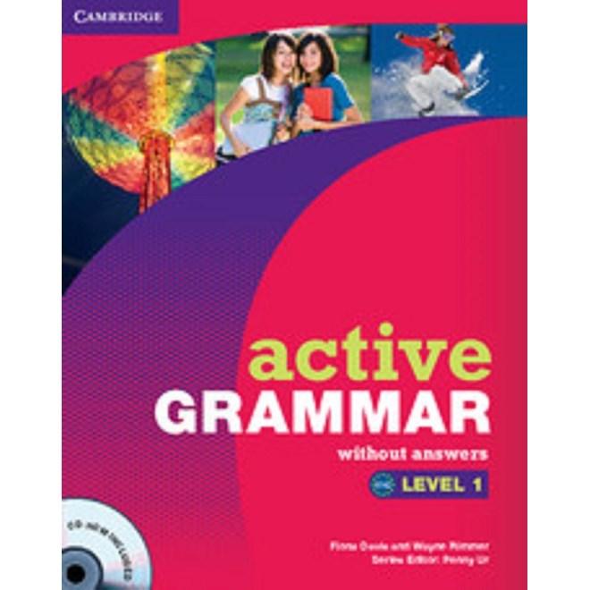 Livro - Active Grammar Without Answers - Level 1 - Cambridge