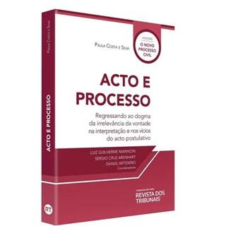 Livro - Acto E Processo - Silva