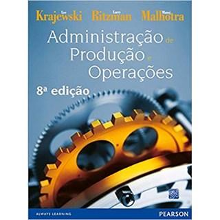 Livro - Administração de Produção e Operações  - Krajewski