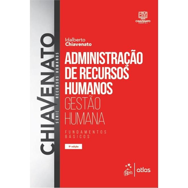 Livro - Administração de Recursos Humanos: Fundamentos Básicos - Chiavenato