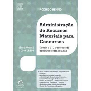 Livro - Administração De Recursos Materiais Para Concursos - Rennó