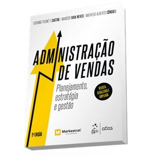 Livro - Administração de Vendas: Planejamento, Estratégia e Gestão - Thomé
