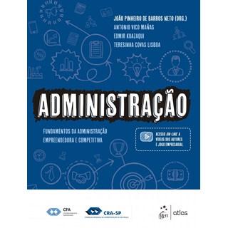 Livro - Administração - Fundamentos da Administração Empreendedora e Competitiva - Barros Neto