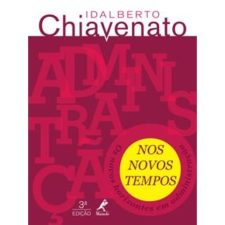 Livro - Administração nos Novos Tempos - Chiavenato
