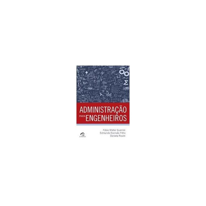 Livro - Administração para Engenheiros - Guerrini