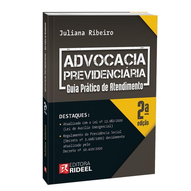 Livro Advocacia Previdenciária - Ribeiro - Rideel