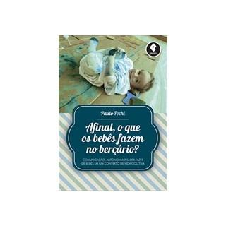 Livro - Afinal, o que os bebês fazem no berçário - Fochi
