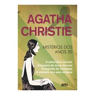 Livro - Agatha Christie - mistérios dos anos 20 - Christie 1º edição