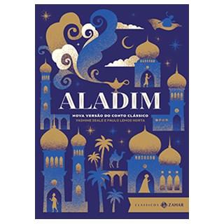 Livro - Aladim: Nova Versão do Conto Clássico (Edição de Bolso Luxo)