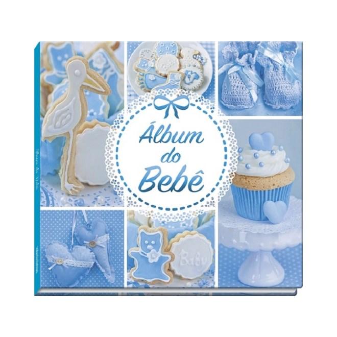 Livro - Album Do Bebe - Azul - Vale Das Letras