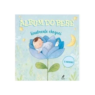 Livro - Álbum  do Bebê - Finalmente Cheguei - É Menino