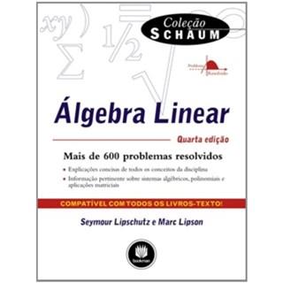 Livro - Algebra Linear - Coleção Schaum - Lipschutz