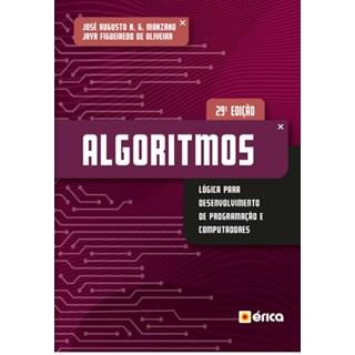 Livro - Algoritmos Lógica para Desenvolvimento de Programação de Computadores - Manzano