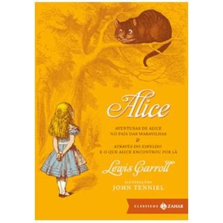 Livro - Alice - Clássicos Zahar (Edição de Bolso Luxo) - Carroll